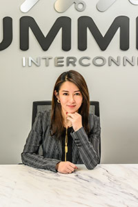 Joyce Hou, General Manager – Summit Global services mid to high volume production, specialty, high mix low volume